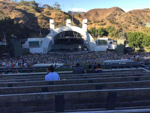 Hollywood Bowl, secção: N1, fila: 9, lugar: 22