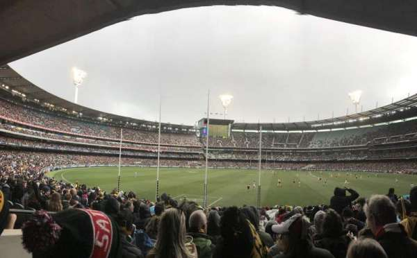 Melbourne Cricket Ground, secção: M2, fila: CC, lugar: 14