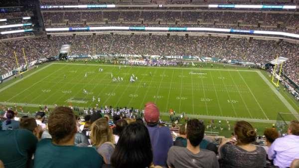 Lincoln Financial Field, secção: 202, fila: 14, lugar: 16