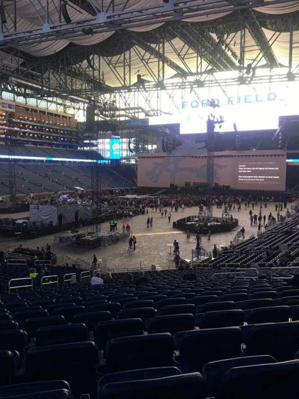 Ford Field, secção: 120, fila: 31, lugar: 14