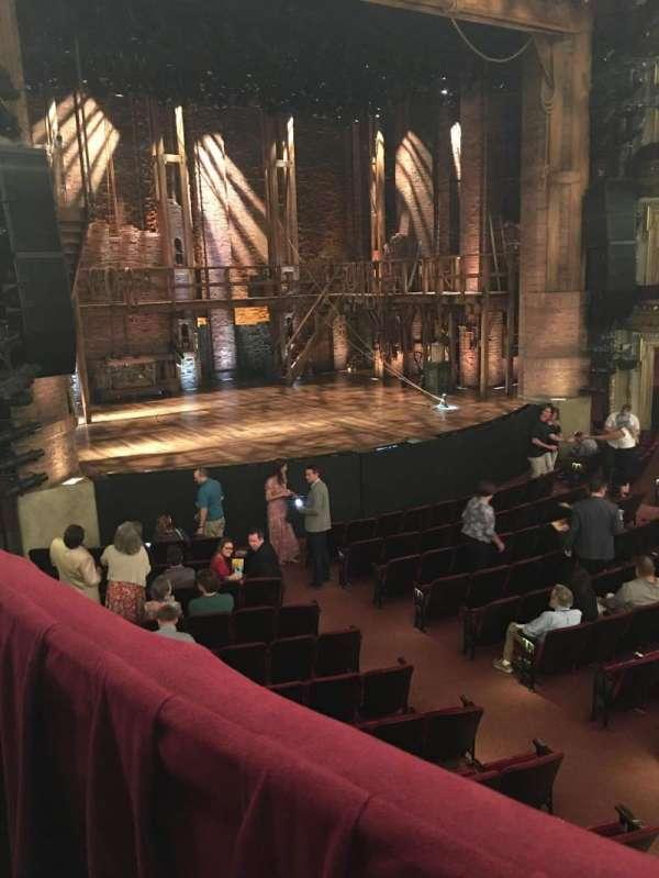 CIBC Theatre, secção: Dress Circle L, fila: A, lugar: 9