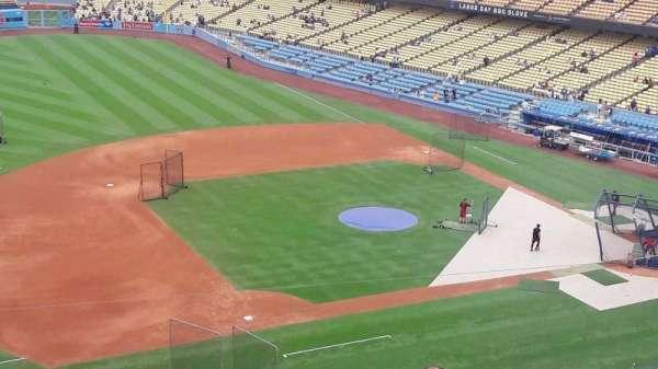 Dodger Stadium, secção: 23RS, fila: L, lugar: 12