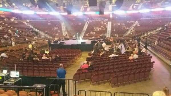 Mohegan Sun Arena, secção: 28, fila: K