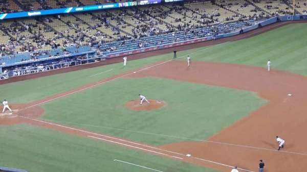 Dodger Stadium, secção: 28RS, fila: G, lugar: 8