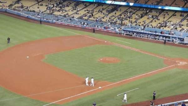 Dodger Stadium, secção: 31RS, fila: P, lugar: 16