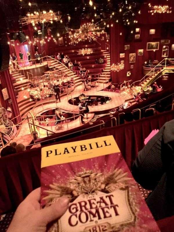 Imperial Theatre, secção: RMEZZ, fila: A, lugar: 4