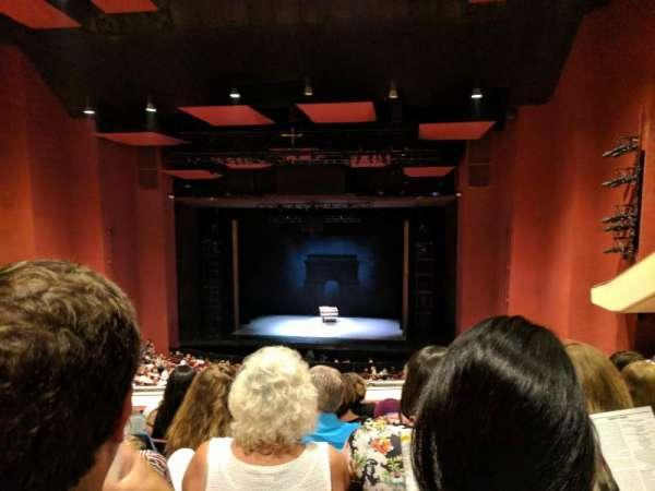 San Diego Civic Theatre, secção: Mezzanine, fila: U, lugar: 22