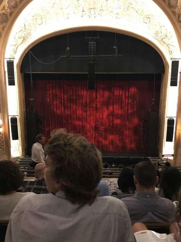 Paramount Theatre (Seattle), secção: Mez13, fila: E, lugar: 8