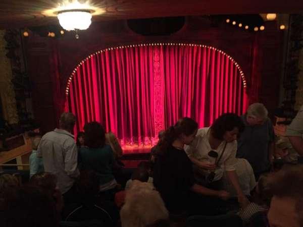 Shubert Theatre, secção: Mezzanine C, fila: G, lugar: 111