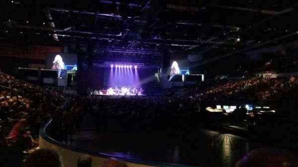 Blue Cross Arena, secção: 113, fila: E, lugar: 7