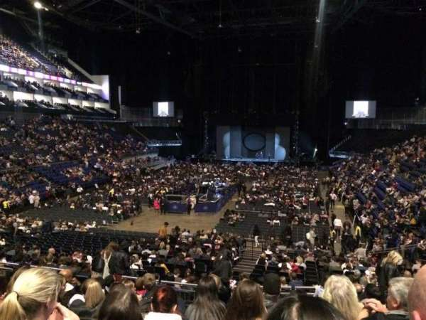 The O2 Arena, secção: 108, fila: W, lugar: 227