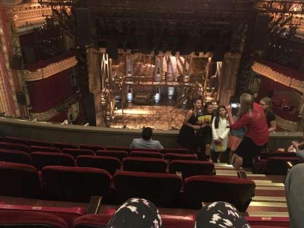 CIBC Theatre, secção: Balcony LC, fila: F, lugar: 403