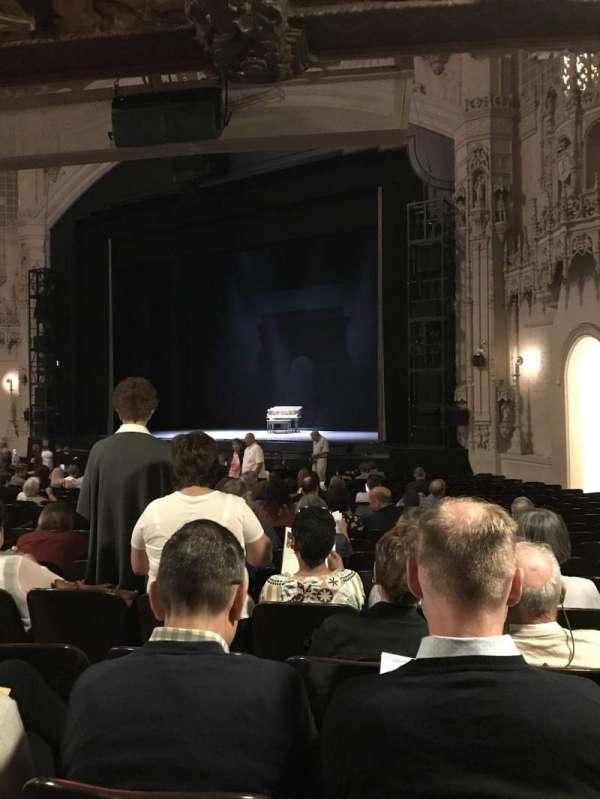 Orpheum Theatre (San Francisco), secção: Orchestra R, fila: Y, lugar: 22
