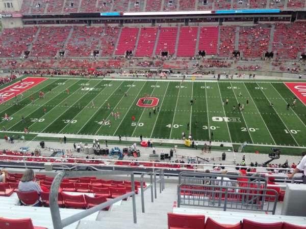 Ohio Stadium, secção: 20C, fila: 14, lugar: 15-16