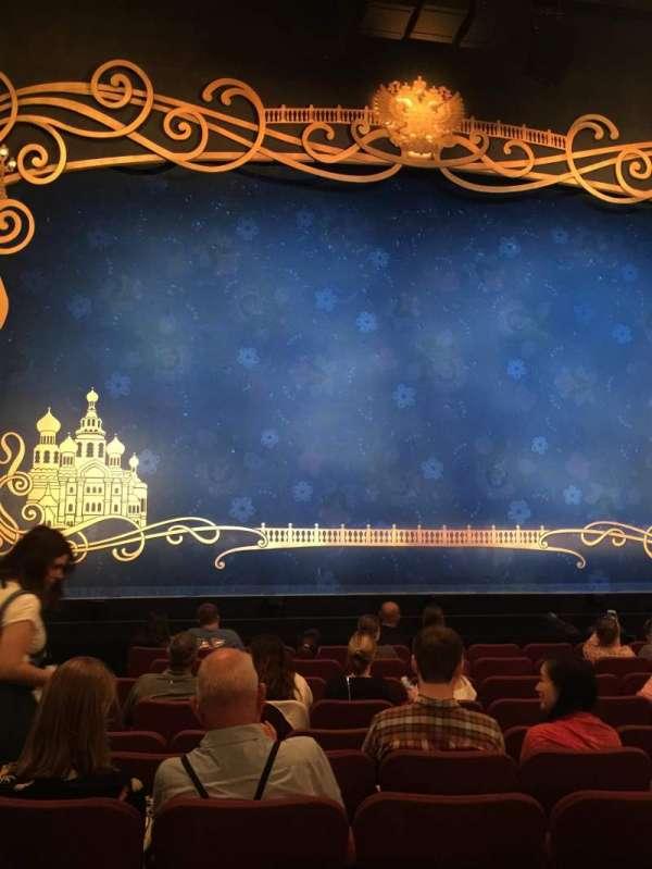 Broadhurst Theatre, secção: Orchestra C, fila: K, lugar: 101