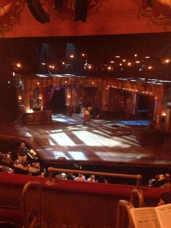 Bernard B. Jacobs Theatre, secção: Mezzanine R, fila: D, lugar: 2