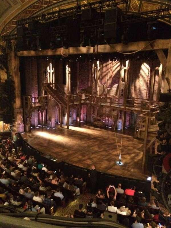 Richard Rodgers Theatre, secção: Front Mezzanine R, fila: A, lugar: 22