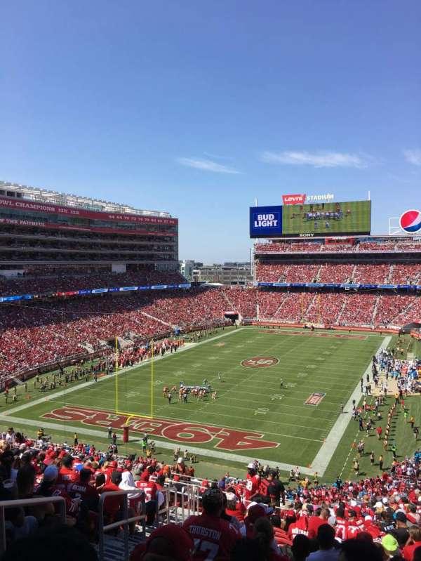 Levi's Stadium, secção: 226, fila: 21, lugar: 25