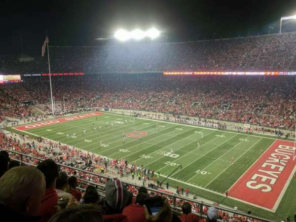 Ohio Stadium, secção: 29C, fila: 16, lugar: 19