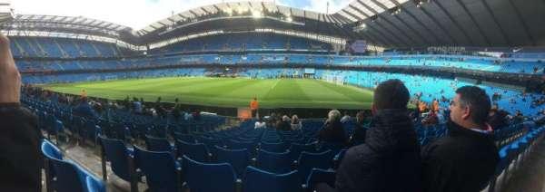 Etihad Stadium (Manchester), secção: 101, fila: N, lugar: 25