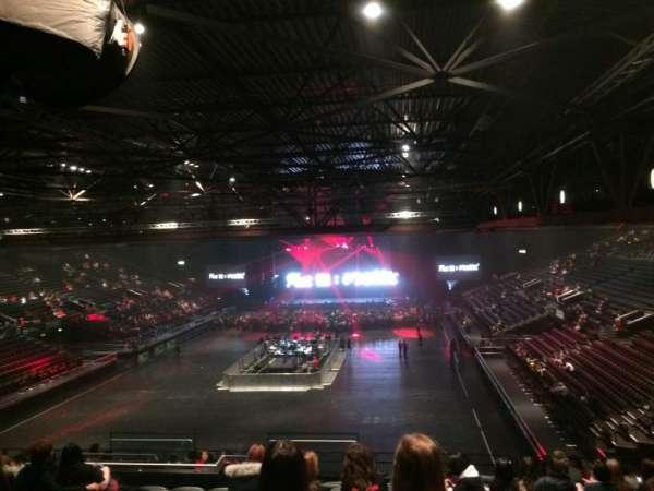 Resorts World Arena, secção: Block 8, fila: ZD, lugar: 247