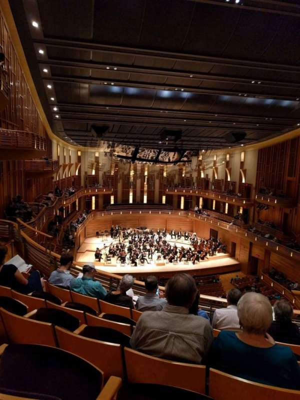 The Music Center at Strathmore, secção: Grand Tier, fila: E, lugar: 3