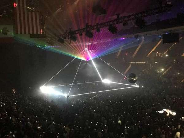 Nassau Veterans Memorial Coliseum, secção: 219, fila: 1, lugar: 1 Asle