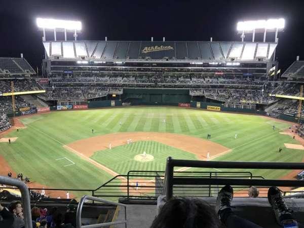 Oakland Coliseum, secção: 316, fila: 8, lugar: 25