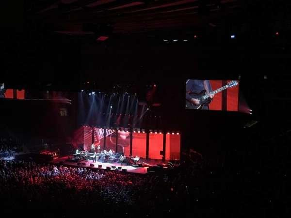 Madison Square Garden, secção: 209, fila: 2, lugar: 7