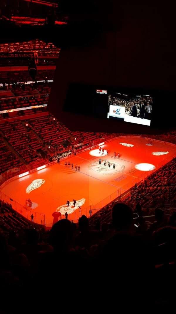 Little Caesars Arena, secção: 216, fila: 11, lugar: 7