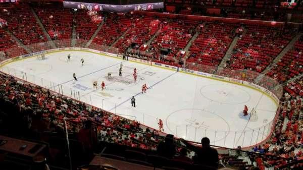Little Caesars Arena, secção: M7, fila: 2, lugar: 3