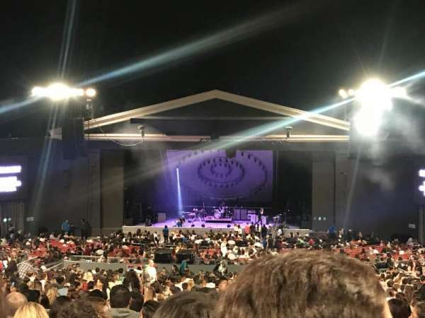 The Greek Theatre, secção: C, fila: L, lugar: 116