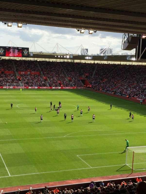 St Mary's Stadium, secção: 45, fila: OO, lugar: 1173