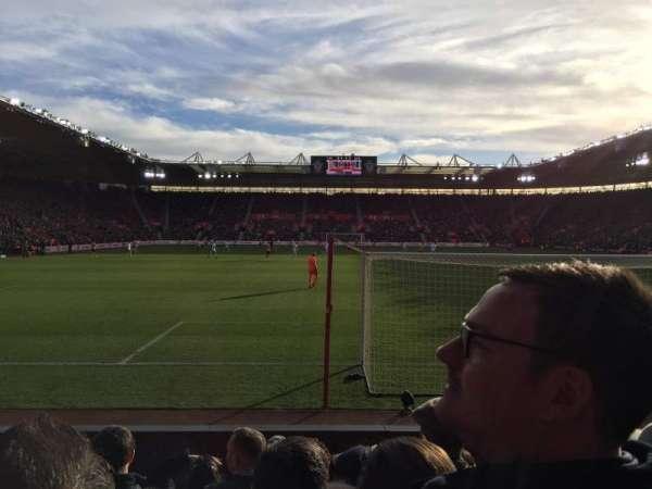 St Mary's Stadium, secção: 43, fila: F, lugar: 1144