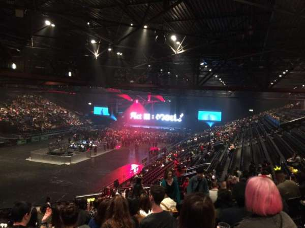 Resorts World Arena, secção: Block 7, fila: YC, lugar: 197