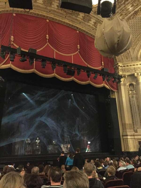 Citizens Bank Opera House, secção: Orchestra LC, fila: L, lugar: 11