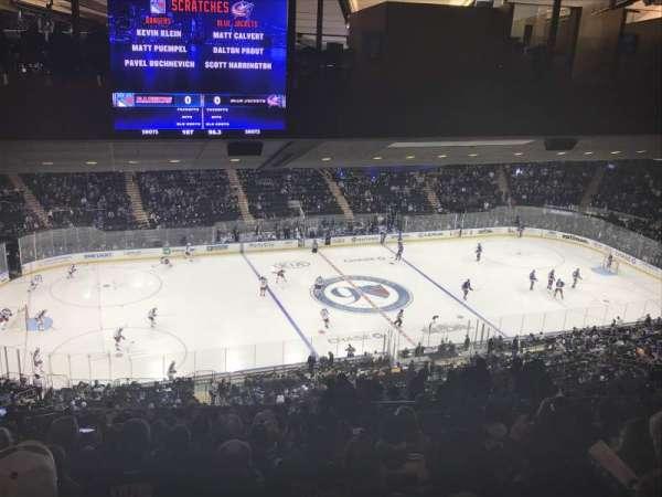 Madison Square Garden, secção: 222, fila: 22, lugar: 15