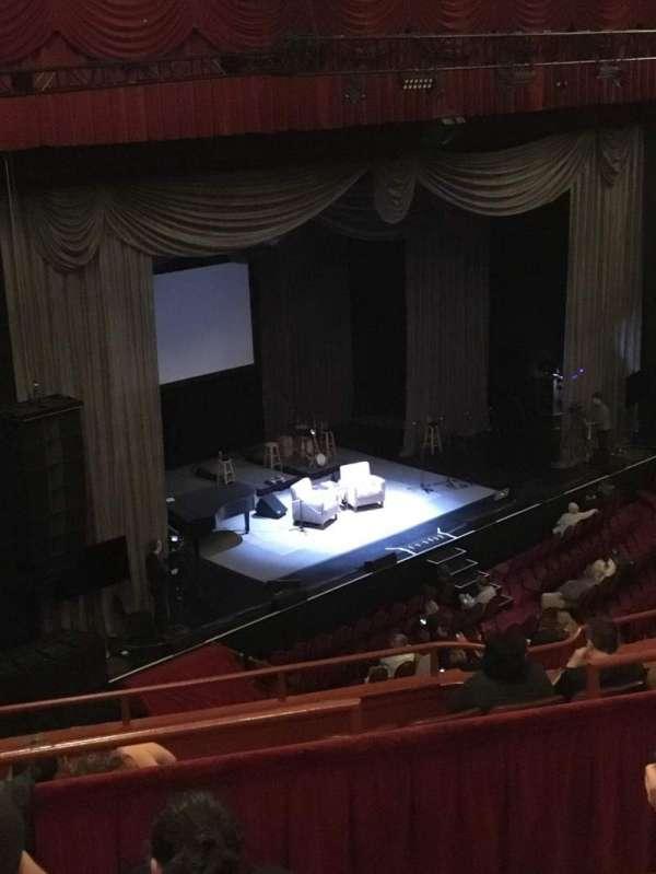 Chicago Theatre, secção: BALCONY1L, fila: D, lugar: 115