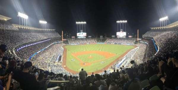 Dodger Stadium, secção: 4RS, lugar: 1