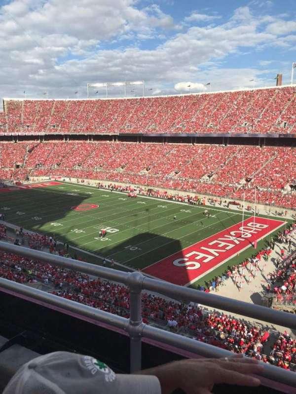Ohio Stadium, secção: 29C, fila: 2, lugar: 33