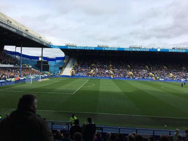 Hillsborough Stadium, secção: BB, fila: S, lugar: 49