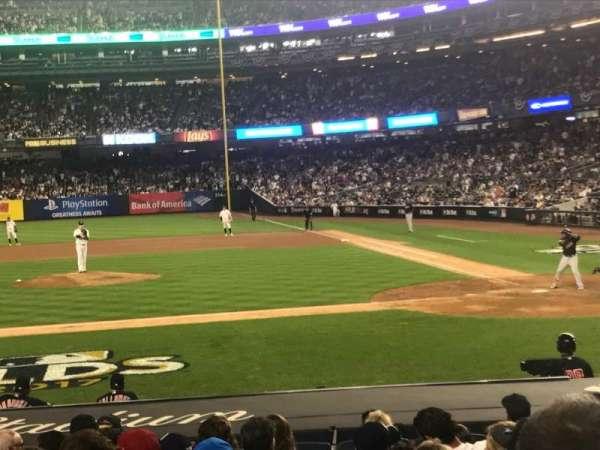 Yankee Stadium, secção: 123, fila: 3, lugar: 5