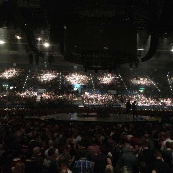 Resorts World Arena, secção: 10 (Lower), fila: H, lugar: 453/454