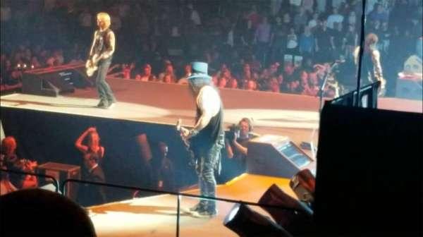 Madison Square Garden, secção: 109, fila: 8, lugar: 1