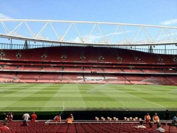 Emirates Stadium, secção: 1, fila: 22, lugar: 25