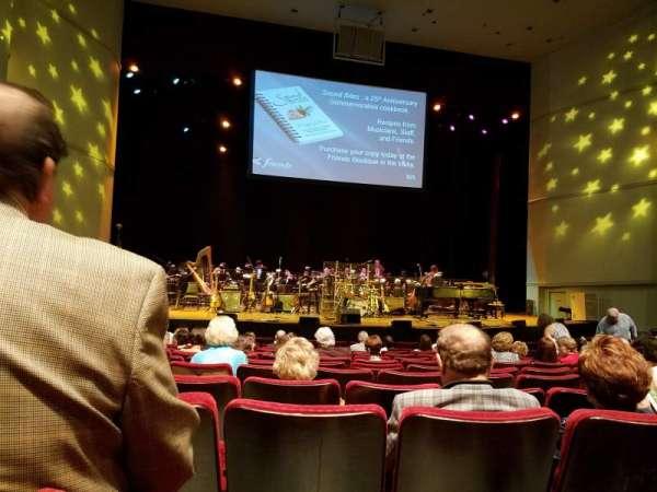 Bob Carr Theater, secção: Orchestra Left, fila: A, lugar: 19
