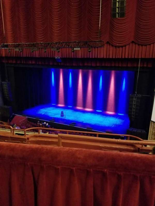 Chicago Theatre, secção: BALCONY2R, fila: A