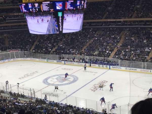 Madison Square Garden, secção: 227, fila: 10, lugar: 3