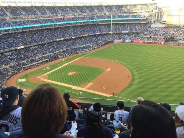 Yankee Stadium, secção: 413, fila: 5, lugar: 18