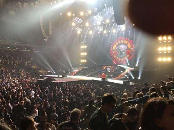 Madison Square Garden, secção: 106, fila: 6, lugar: 18